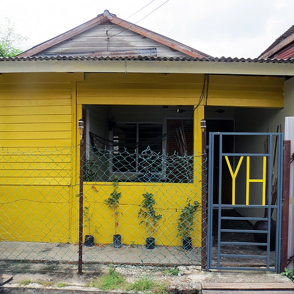 Yellow House KL Front Yard